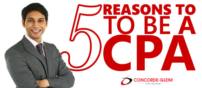 5 REASONS TO BECOME A CPA